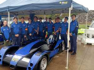 Trade students build fastest Formula 1