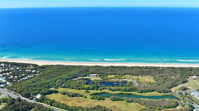 The Yaroomba site where Sekisui is hoping to build a five-star international hotel and resort, which Ashley Robinson says is badly needed on the Coast.