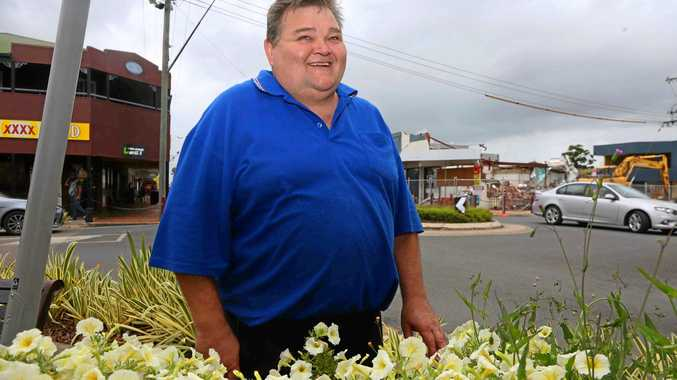 TOWN PLAN: Division three councillor John 'Sarge' Collins is relieved about the implementation of the Proserpine Sustainability and Future Growth Master Plan.