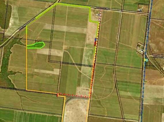 The proposed Mirani Solar Farm.