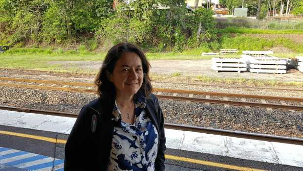 REGULAR: Bernadette Morris-Smith says rail duplication would make her commute a lot quicker.