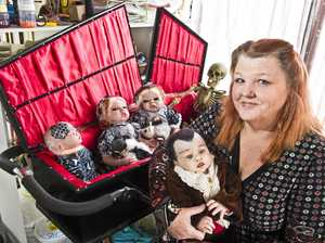 Meet Toowoomba woman creating realistic baby dolls