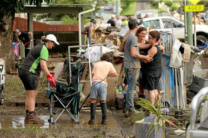 FLOOD DISASTER: Murwillumbah's flood clean up took several weeks to complete after the March floods.