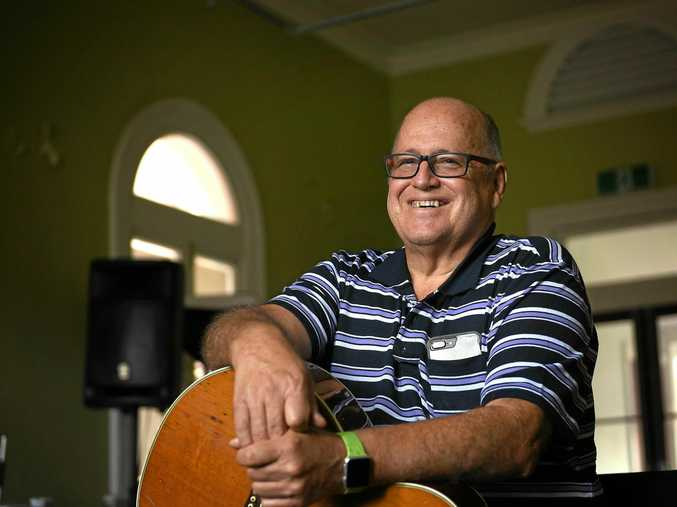 KEY CHANGE: Dr Geoff Walden at the Australian Institute of Country Music in Gympie.