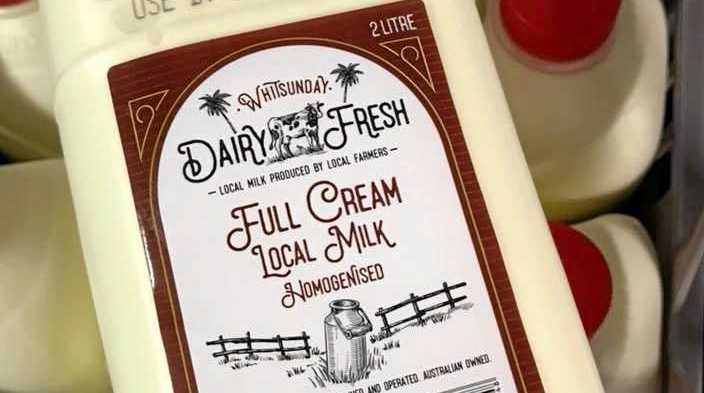 CQ and Eungella dairy farmers will see their own local milk hit the shelves on Monday.