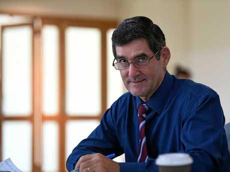 Nicklin MP Peter Wellington.