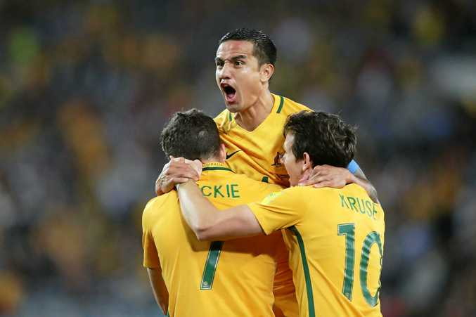WELCOME TO 'HELL': The Socceroos will head into an intimidating atmosphere in search for a win on Saturday morning.