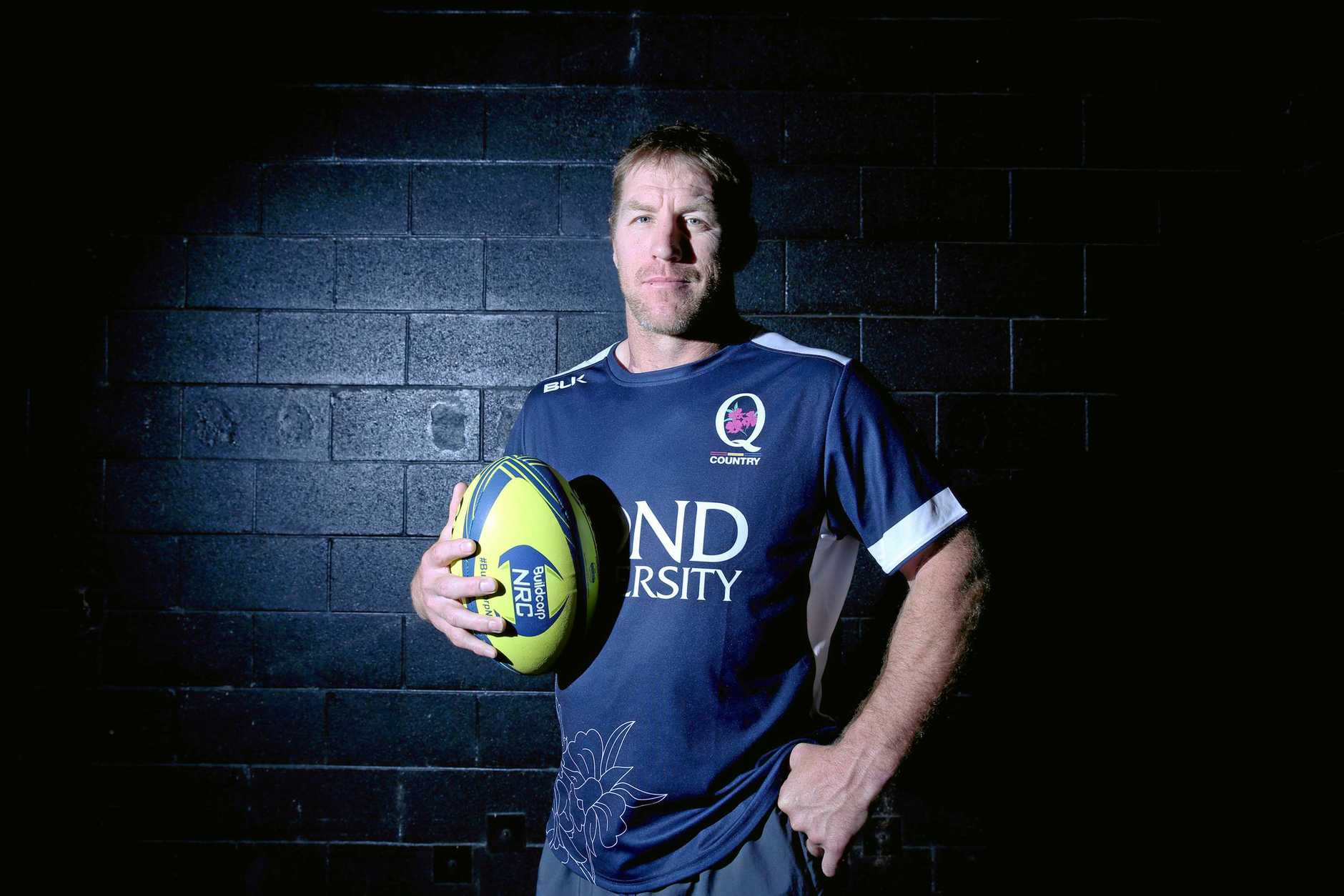 Queensland Country coach Brad Thorn.