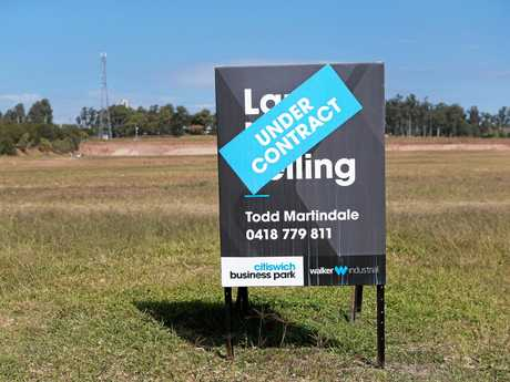 Industrial site at Bundamba where a new Costco will be built.