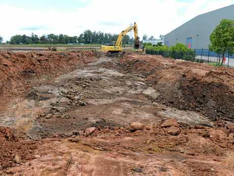Work has started on the Costco site in Bundamba.