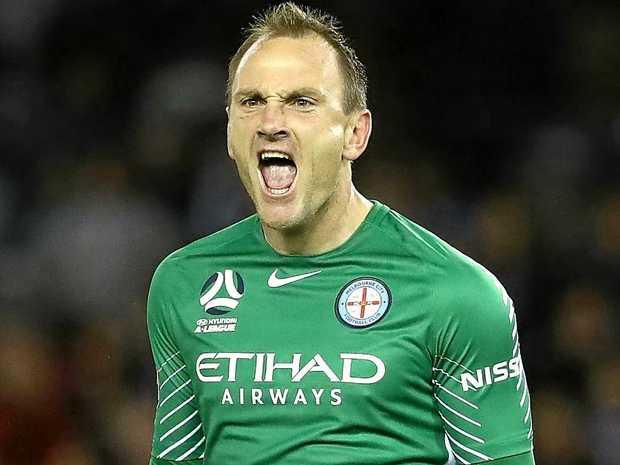 City goalkeeper Eugene Galekovic.