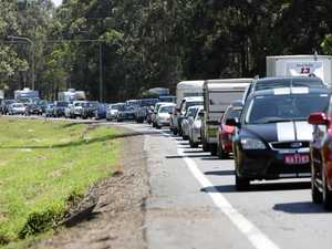 GRIDLOCK: Bruce Hwy traffic still backed up after crash