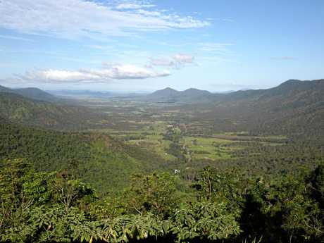 A room with a view is what the Eungella Chalet offers of the Valley.
