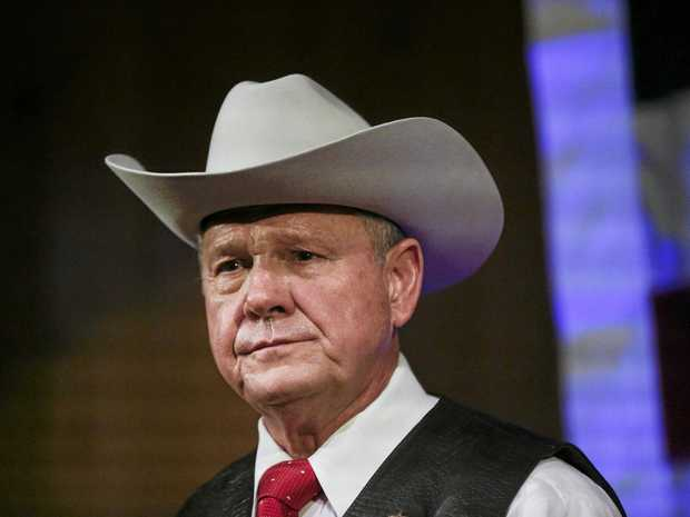 Former Alabama Chief Justice and US Senate candidate Roy Moore denies having sexual contact with a 14-year-old girl when in his 30s.