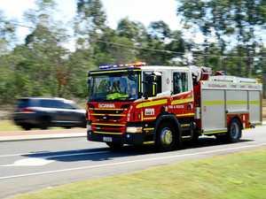 UPDATE: Two hurt in Cunningham Highway rollover