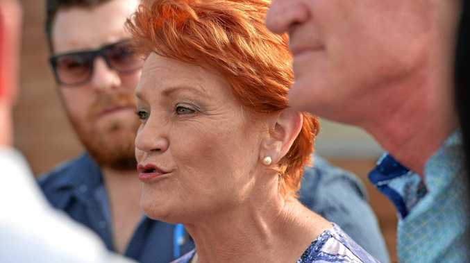 Pauline Hanson wants a coal-fired power station to be built at Collinsville, north of Mackay.
