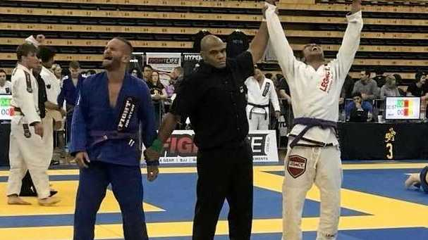 CHAMP: Rafael Miyashiro won a national Jiu Jitsu title.