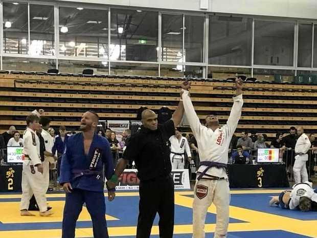 CHAMP: Rafael Miyashiro won a national Jiu Jitsu title.