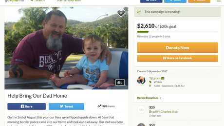 A Gofundme page has been set up to help with legal costs for the Lyons family.