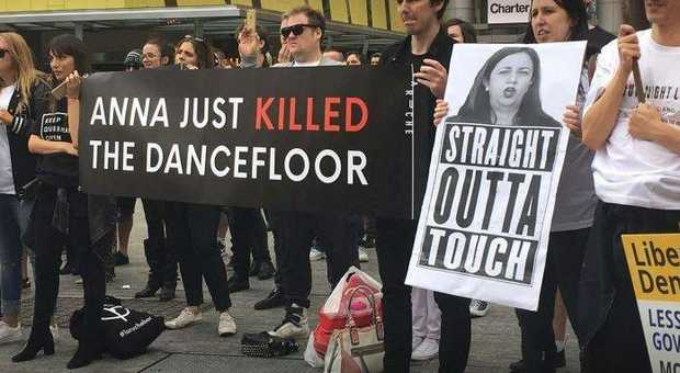 The Queensland Greens are targeting the Premier over the death of the dance floor.