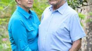 Bonny's parents Glenis and Mick George. Picture: Paul Beutel