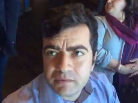 Sam Dastyari hasn't committed to taking legal action of his own over the incident. Picture: Facebook