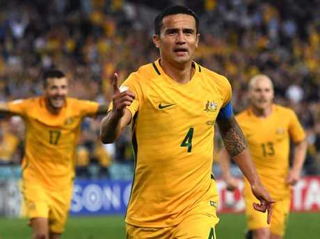 Tim Cahill is sure to get some time off the bench against Honduras.