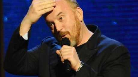 Louis C.K. performs on stage. Picture: Andrew Toth/FilmMagic