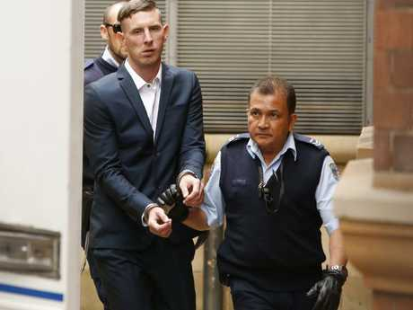 Evans also assaulted and terrorised five other people during two horrific home invasions. Picture: David Swift
