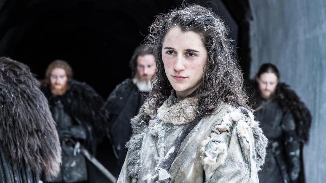 Kendrick plays Meera, Bran Stark's companion. Photo: Helen Sloan/HBO