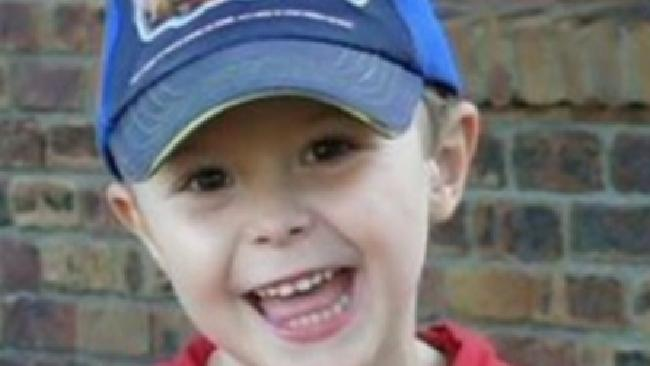Tyrell Cobb died from injuries sustained at home in 2009, aged four. Picture: Channel 7