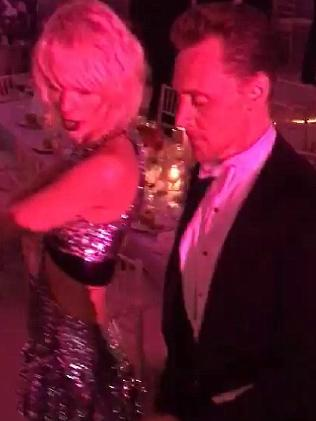 Taylor Swift Tom Hiddleston at Met Gala 2016. Picture: Instagram