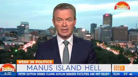 Christopher Pyne chats with Karl on the Today Show.