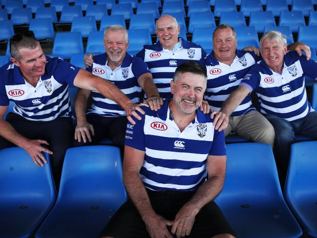 Bulldogs are forming a Captains Circle of past five Premiership captains.