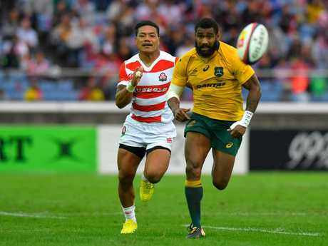 Marika Koroibete has emerged as one of the Wallabies' key attacking threats.