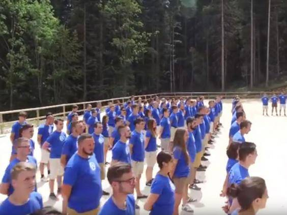 A Generation Identity training camp in summer 2016