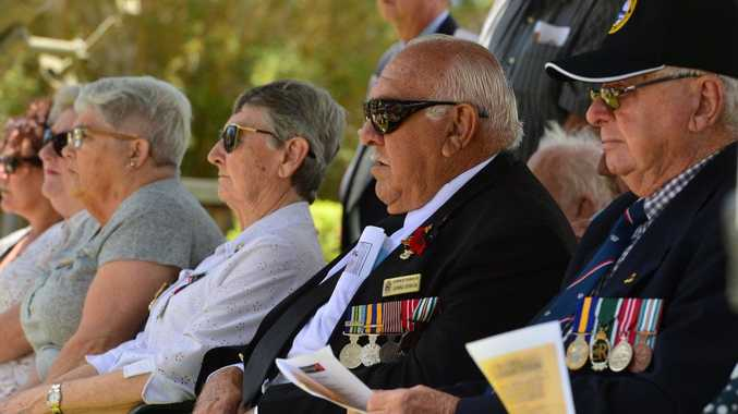 Remembrance Day at Caloundra RSL.