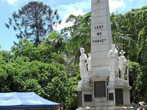 Maryborough stops to remember the fallen