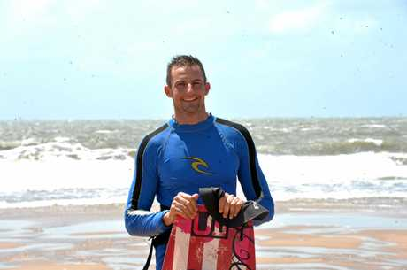Liam Fulcher said kite surfing beats sitting around the house leading up to his wedding.