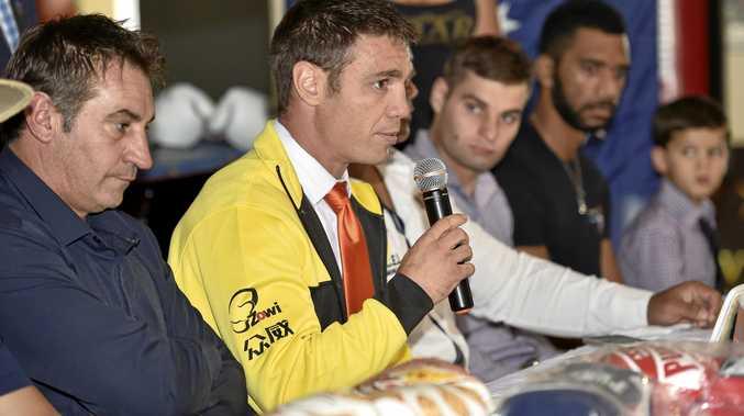 Michael Katsidis has joined a hot field chasing the Super8 title at Toowoomba's Rumours International on November 25.