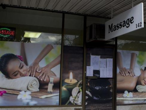 While Nikki Goldstein visited a legal brothel, many massage parlours such as this one in Melbourne's Malvern are operating illegally. Picture: Supplied