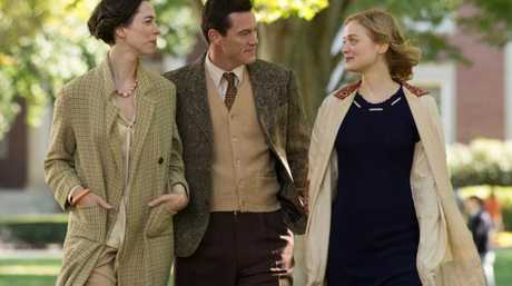 Bella Heathcote, Rebecca Hall and Luke Evans star in Professor Marston and the Wonder Women movie.