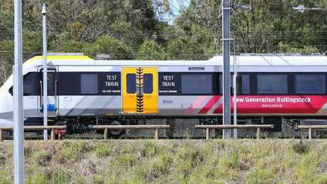 One of Queensland's New Generation Rollingstock trains.