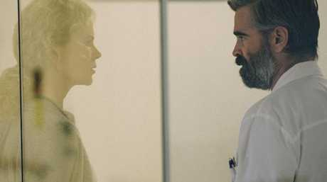 Nicole Kidman and Colin Farrell make for an unsettling couple in The Killing Of a Sacred Deer