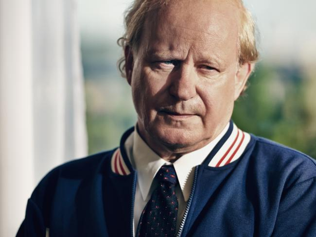 Stellan Skarsgard plays Swedish tennis coach — and Borg's mentor — Lennart Bergelin.