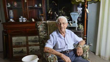 90-year-old James Meadmore of Fernvale is selling a lifetime's worth of collected antiques.