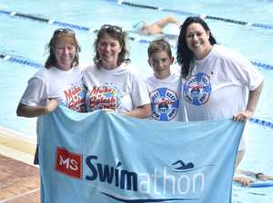 MS swim-a-thon