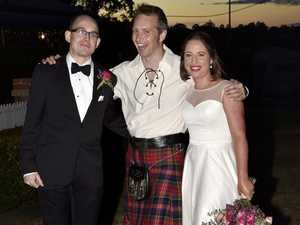 Great Scot! Social media saves man from wedding gaffe