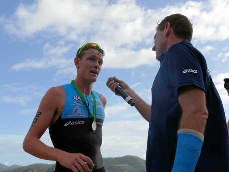 Hamilton Island Triathlon 2017 winner Luke Willian