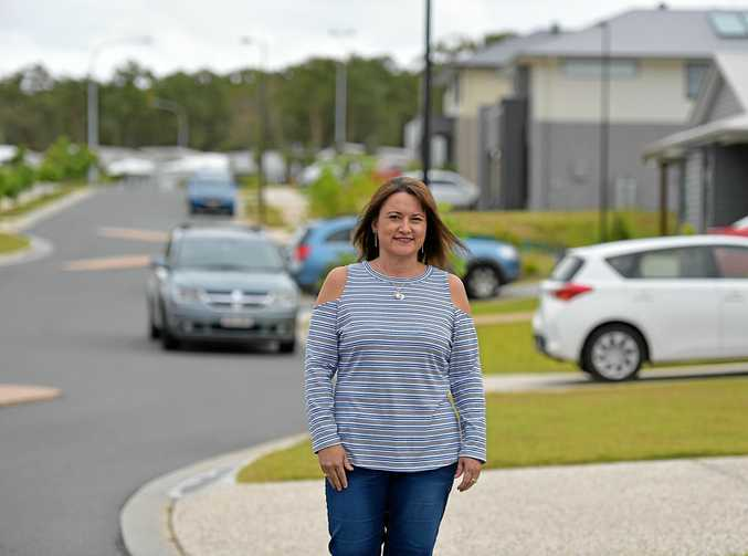TIME FOR ACTION: Andrena Campbell is spearheading a push for a bus service to the Peregian Breeze Estate.